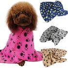 Soft Warm Pet Fleece Blanket Bed Mat Pad For Cute Dog Cat Puppy Pet Animal HOT
