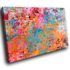 AB672 Colourful Cool Grunge Modern Abstract Canvas Wall Art Large Picture Prints