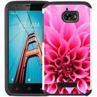 For Coolpad Defiant 3632 Slim Hybrid Armor Case Dual Layer Phone Cover