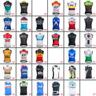 2018 Summer Mens Cycling Vest Clothing Bike Sleeveless Jersey Breathable Shirt