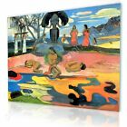 Day Of The Gods by Paul Gauguin   Ready to hang canvas   Wall art picture HD