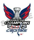 Washington Capitals 2018 Stanley Cup Champions Decal / Sticker Die cut $4.49 USD on eBay