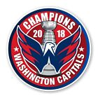 Washington Capitals 2018 Stanley Cup Champions Round Decal / Sticker Die cut (R) $5.49 USD on eBay