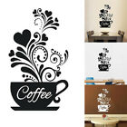Kf_ Coffee Cup Decal Wall Decoration Removable Home Kitchen Art Mural Sticker