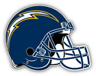 San Diego Chargers NFL Football Helmet Logo Car Bumper Sticker-9'', 12'' or 14'' on eBay