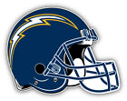 San Diego Chargers NFL Football Helmet Logo Car Bumper Sticker-9'', 12'' or 14'' $13.99 USD on eBay