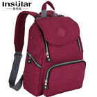 Insular Original Large Mummy Maternity Nappy Diaper Bag Baby Bag Travel Backpack