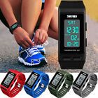 Men Women Sports Bracelet Digital Wrist Watch LED Waterproof Pedometer Calories image