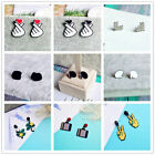 Stylish Lady Hand Finger Heart Gesture Earring Drop Dangle Punk Ear Stud Jewelry $1.39 USD on eBay