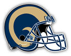 St. Louis Rams NFL Football Helmet  Logo Car Bumper Sticker   -9'', 12'' or 14'' on eBay