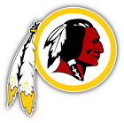 Washington Redskins NFL Football Head  Car Bumper Sticker    -9'', 12'' or 14'' on eBay