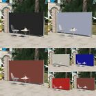 Patio Terrace Side Awning Automatic Roll Back Screen UV Resistant 160/180x300 cm