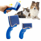 OL Pet Dog Cat Brush Comb Self Cleaning Slicker Grooming Tool Hair Trimmer S/L