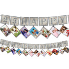 Silver 25th Anniversary Party Supplies Decoration Table Wear Photo Prop Party