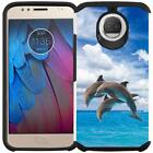 For Motorola Moto G6 Colorful Design Case Slim Hybrid Phone Cover