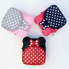 Minnie Mouse Cross Body Bag Small Pouch School Bags Daily Ki