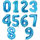 "32"" 40"" Giant Foil Number Balloons letter Air Helium Birthday Age Party Wedding"