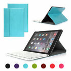 Removable Bluetooth Keyboard For Apple iPad Air2 Tough Case Folding PU Leather