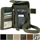 Travel Organizer Pouch Canvas Passport Holder Wallet Case Portfolio Shoulder Bag