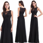 sexy black formal gowns - US Sexy Long Black Formal Evening Party Prom Gowns Cocktail Party Dresses 08715