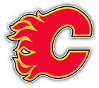 Calgary Flames NHL Hockey Logo Car Bumper Sticker Decal  - 9'', 12'' or 14'' $13.99 USD on eBay