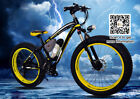 48V 10.4AH Electric snow Bike Fat tire  Electric Bicycle 26inch aluminium frame