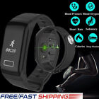 F1 Fitness Tracker Bracelet Blood Pressure Oxygen HR Monitor for IOS Android
