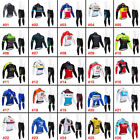 2018 New Men Cycling Apparel Bicycle Jersey Bib Pants Sets Long Sleeve Quick Dry