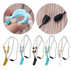 Внешний вид - Baby Infant Silicone Feather Jewelry Teething Necklace Baby Nursing Chewing Toys