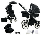 Baby Pram Complete Travel System Pushchair 3in1 Car Seat Carrycot Buggy Newborn <br/> Top Quality# Sport Design# 10 Colours# All Inclusive