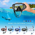 ENKEEO Adult Kid Snorkel Diving Swimming Mask Dry and Breath Tube Paradise Scub