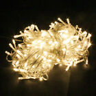 20M 30M LED Wire String Fairy Light Outdoor Wedding Christmas Party+ US Plug