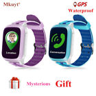 DS18 GPS WiFI baby Smart Watch Locator Tracker SOS Call SMS for kids safe