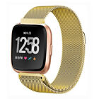 New For Fitbit Versa Milanese loop Stainless Steel Watch Strap Band