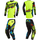 Kyпить ONeal Element Villain motocross dirt bike gear - Kids / Youth Jersey Pants combo на еВаy.соm