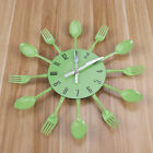 Modern Kitchen Wall Clock Stickers Spoon Fork Cutlery Creative Home Decoration