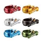 1 KCNC SC12  QR MTB Seatpost Clamp 31.8mm OR 34.9MM - BLUE GOLD RED GREEN BLACK