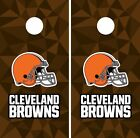 Cleveland Browns Cornhole Skin Wrap NFL Football Art Decor Sticker Vinyl DR24 on eBay