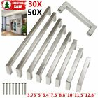 Modern Modify Bar Stainless Steel Kitchen Black Door Cabinet Handles Pulls Lot Y