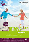 VITAMIN B12 Patches PLUS 10 additional Vitamins, 100% Natural Free P&P