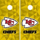 Kansas City Chiefs Cornhole Skin Wrap NFL Football Art Decor Vinyl Decal DR38 $39.99 USD on eBay