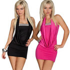 Hot Sexy Lady Women's Clubwear Party Cocktail Evening Mini Rose Bodycon Dress