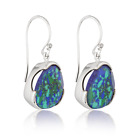 NEW Handcrafted Jewellery Everyday Gemstone Cocktail Earrings Azurite