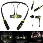 New Green Bluetooth Wireless Head Phones Sports For Samsung Galaxy Phone Cases