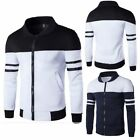 Fashion Men Slim collar jackets fashion jacket Tops Casual coat outerwear M 3XL