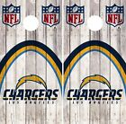 Los Angeles Chargers Cornhole Skin Wrap NFL Football Wood Design Vinyl DR42 $59.99 USD on eBay