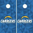 Los Angeles Chargers Cornhole Skin Wrap NFL Football Art Decor Vinyl Decal DR44 $59.99 USD on eBay