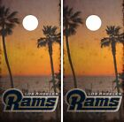 Los Angeles Rams Cornhole Skin Wrap NFL Football Vintage Vinyl Decal DR45 $39.99 USD on eBay