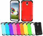 Samsung Galaxy S4 GT i9500/5 Case Slim Shock Proof Protective Hybrid Cover Case