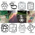 Concrete Driveway Stepping Mold Pathmate Pavement 8 Shape Plastic Paving Garden  image